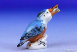 0F810 WAGNER und APEL miniatűr porcelán madár