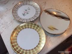 3 db porcelán tányér eladó!