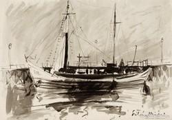 Szilvásy Nándor: Kikötő