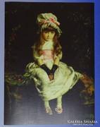 0G243 John Everett Millais színes reprodukció