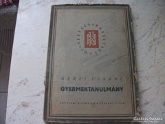 Méri Ferenc Gyermektanulmány antik könyv eladó!