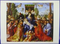 0G254 Albrecht Dürer színes reprodukció