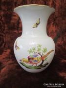 Herendi Rootschild mintás nagyobb méretű váza, szép