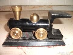 Antik fém vonat levélnehezék eladó!