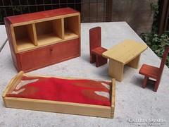 Mini bababútor 5 rész-fenyőfa-Új, ajándékba is