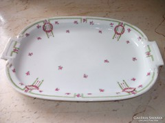 Antik porcelán süteményes tál eladó!