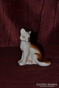 Orosz porcelán róka figura 02  ( DBZ0056 )