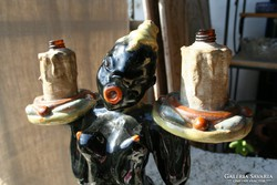 Art deco kerámia - jelzett