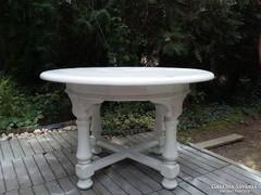 Provence tömör fa asztal , étkező asztal , ebédlő asztal