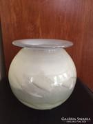 Művészi üveg gömb váza - art design glass vase (25)