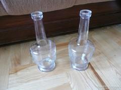 Régi italos palack, régi boros palack, rég italos üveg 2 db