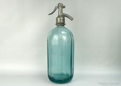 0G814 Régi zöld szódásüveg KŐBÁNYAI SÖRGYÁRAK 1949