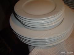 Fehér tányér sorozat 10 darab