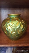 Zsolnay eozin madaras váza.