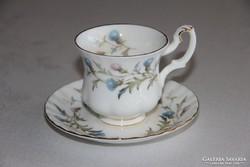 Royal Albert Brigadoon kávés csésze alátéttel