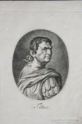 XVIII-XIX sz.-i metszet : Titus