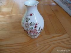 Zsolnay Váza virágmintás kézzel festett 13 cm