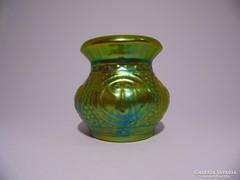 Zsolnay eozin majmos váza (Gazder)