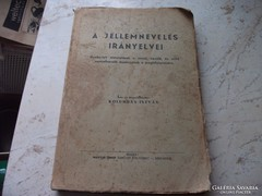 A jellemnevelés irányelvei.1937-es kiadás