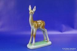 0H830 Régi DRASCHE porcelán bambi figura