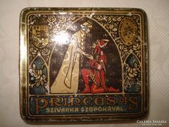 Régi szivarka doboz (Princesas)