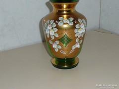 Cseh Bohemia váza Bohemia üveg váza