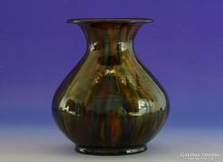 0I029 Régi Badár Balázs mezőtúri kerámia váza