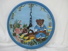 Mackó & Medve falióra 25 cm.