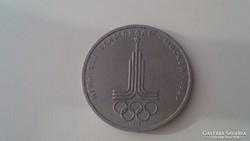 Olimpiai 1 rubel 1977