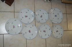 Ó-Herendi tányérok + egy tál