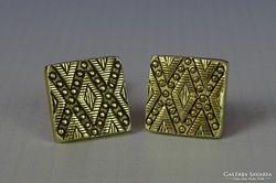 0I133 Aranyszínű mandzsetta pár