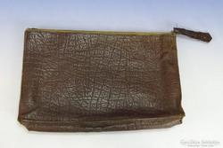0I336 Régi valódi bőr táska bőrtáska laptáska