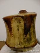 Zsolnay pirogránit padlóváza, Papp János keramikusművész alkotása