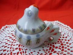 Orosz Kijev porcelán csibe alakú fűszertartó