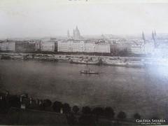 BUDAPEST PEST Ferenc József rakpart 1882 korabeli