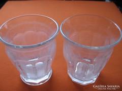 2 db antik , vintage Durit pohár