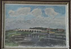 Patay László (1932-2002): Kilenclyukú híd
