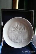 Herendi porcelángyár feliratú tányér