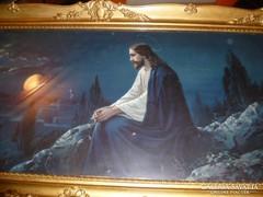 Blondel keretes nagyméretű szent kép