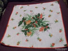 Karácsonyi textil szalvéták 39 x 39 cm