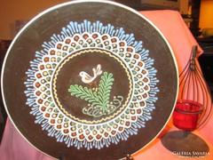Kerámia tányér kináló Á009