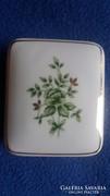 Hollóházi porcelán ékszertartó