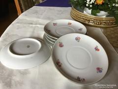 Zsolnay porcelán teás alátét 14,5 cm-es