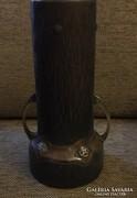 Bécsi szecessziós fém váza