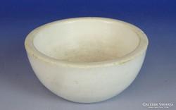 0I920 Régi kisméretű Elbogen porcelán patikamozsár