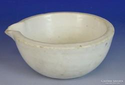 0I921 Régi Elbogen porcelán patikamozsár
