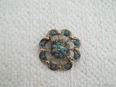 Régi filigrán orosz ezüst bross