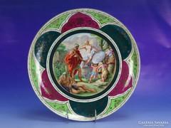 0I896 Régi nagyméretű Altwien porcelán tál 34 cm