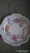Zsolnay pillangós tányérka