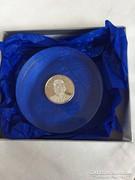 933-as ezüst érme Gottlieb Stoll műanyagban dobozában